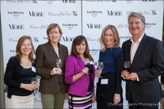 Women of the Wine 2013 and More Magazine at the napa Westin