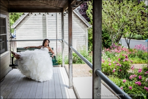 Lavender inn, yountville - Jodi & Darius' Elopement