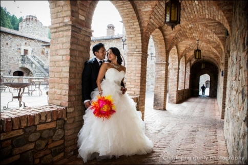 Castle Di Amorosa - Jodi & Darius' Elopement