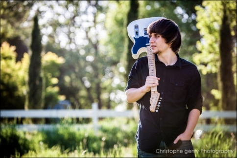 Napa Guitar player Mucisian Chad Blower - Christophe Genty Photography