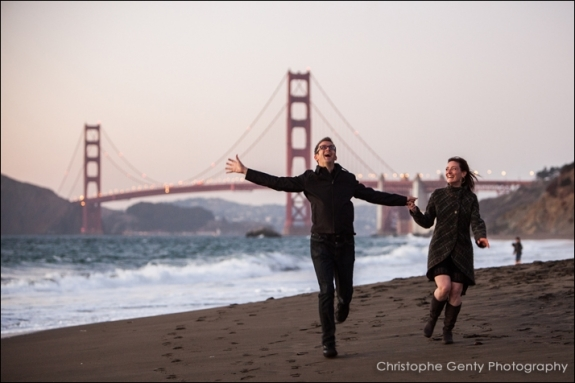 Engagement photography in San Francisco -