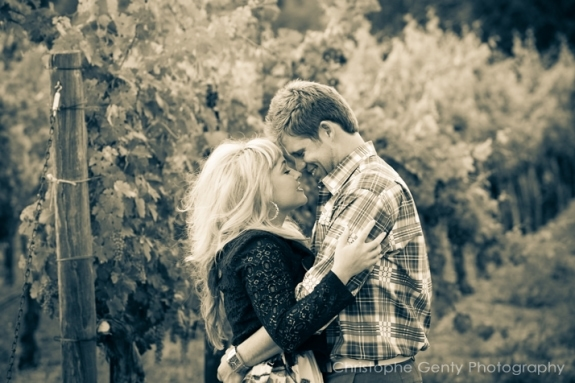 Napa Candid Proposal Photography