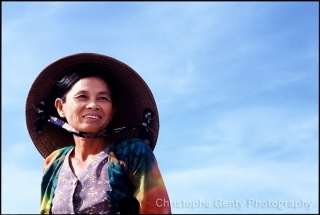 Woman in the Mekong Delta - Vietnam, 2000