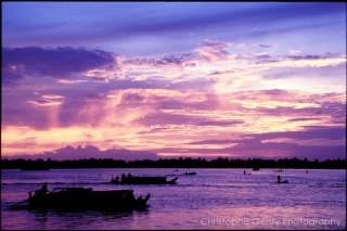 sunrise on The Mekong Delta, 2000