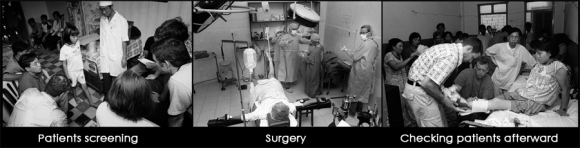 Mission Peace surgery process - Mekong Delta - Vietnam, 2000