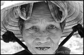 Woman in the Mekong Delta - Vietnam, 2002