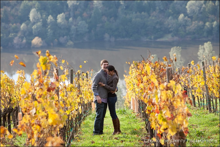 Napa Valley Candid Proposal Photography - Viader Winery, Adam & Liz