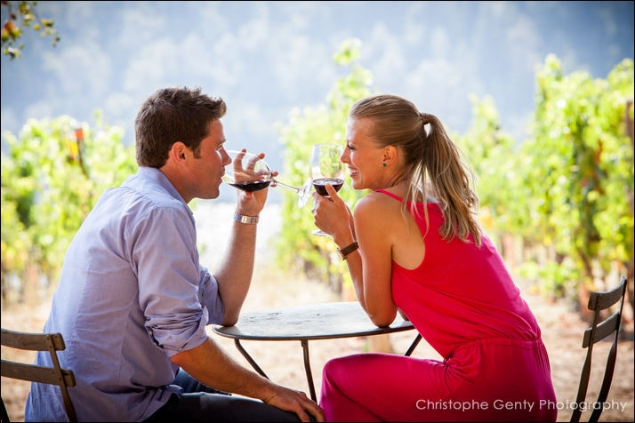 Napa Valley Candid Proposal Photography - Viader Winery - Jason & Helena