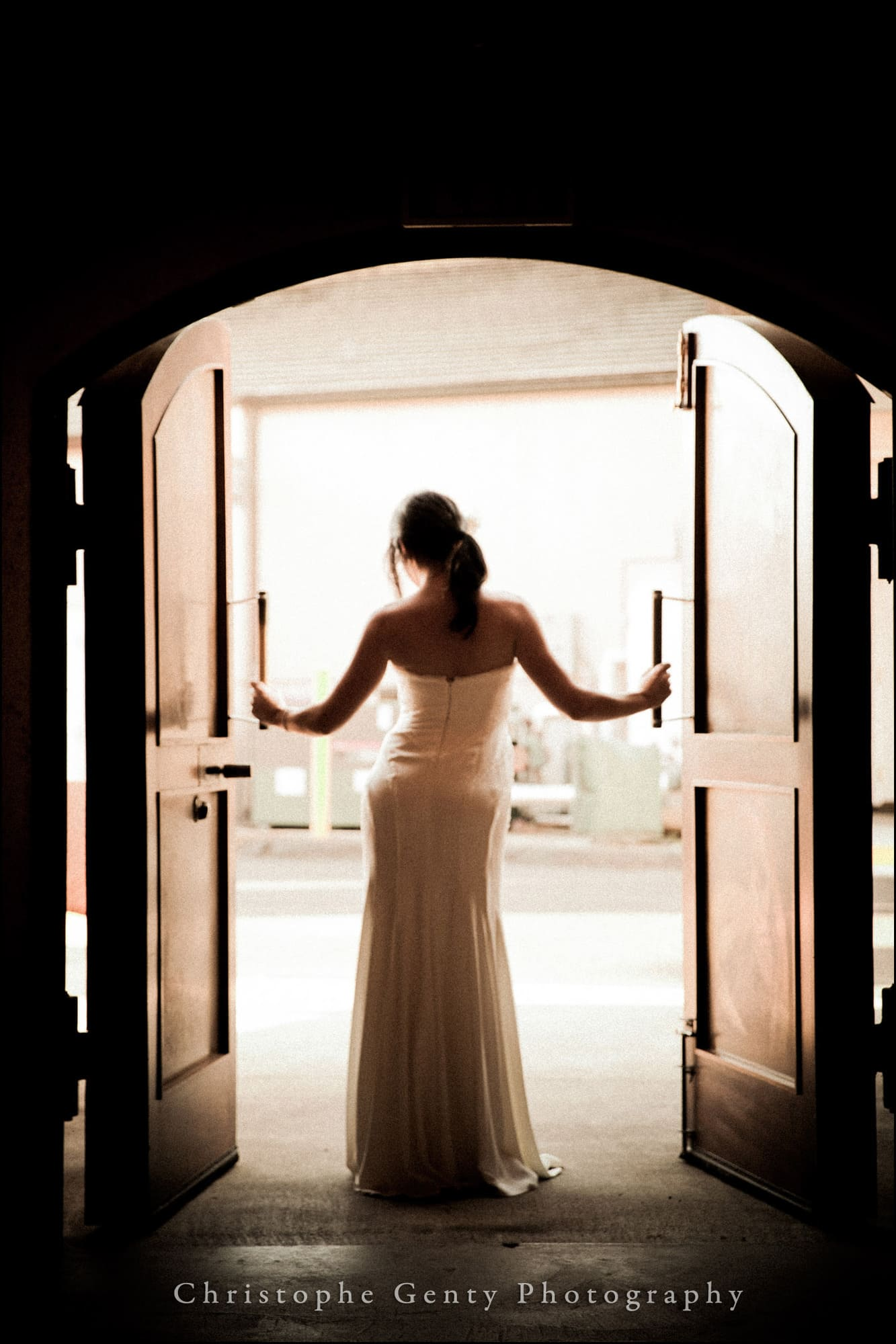 Wedding Photography at Miner Wines in oakville - Tiffany & Jim