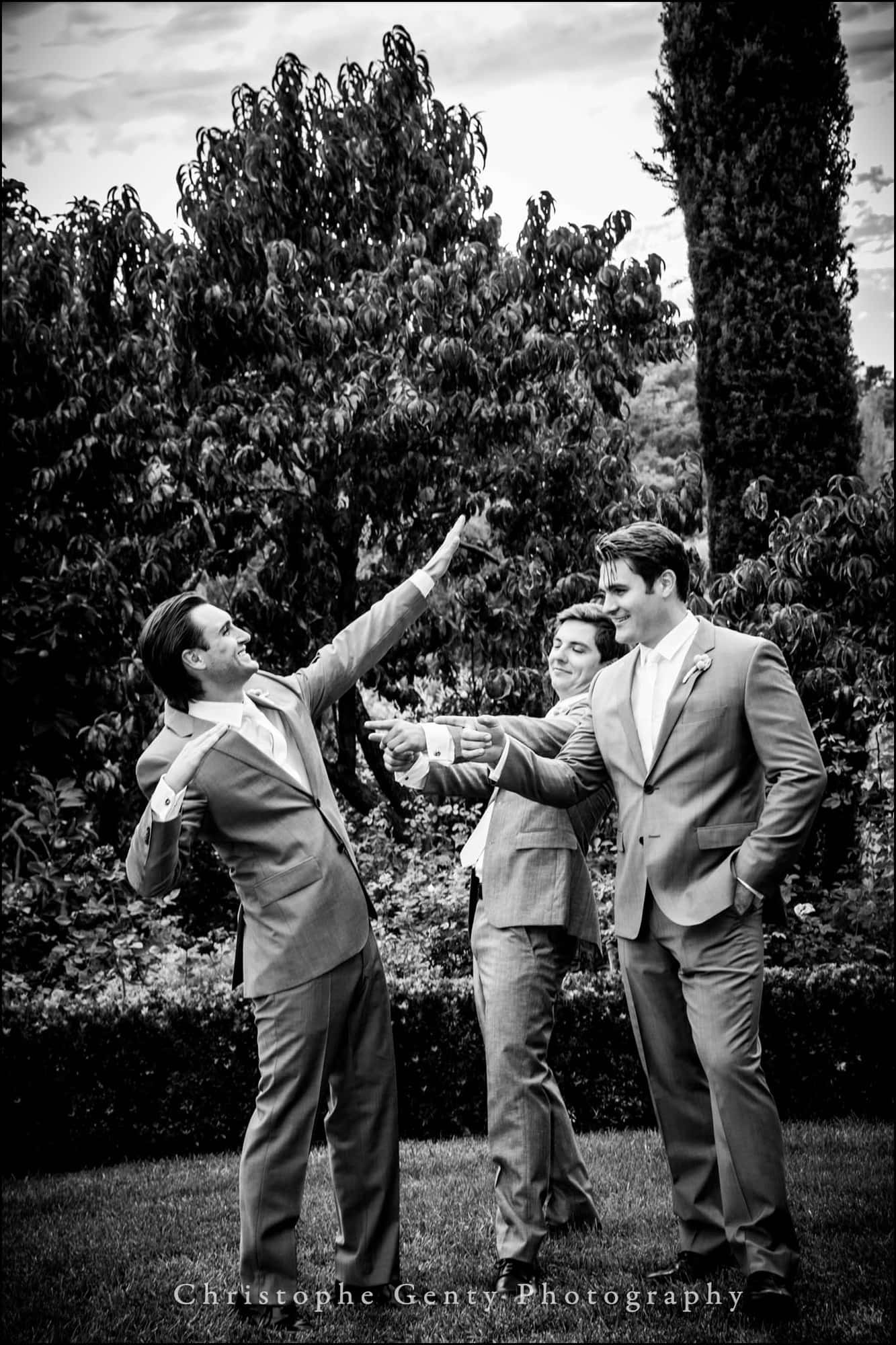 Napa Valley wedding photography at The Hills Estate, CA