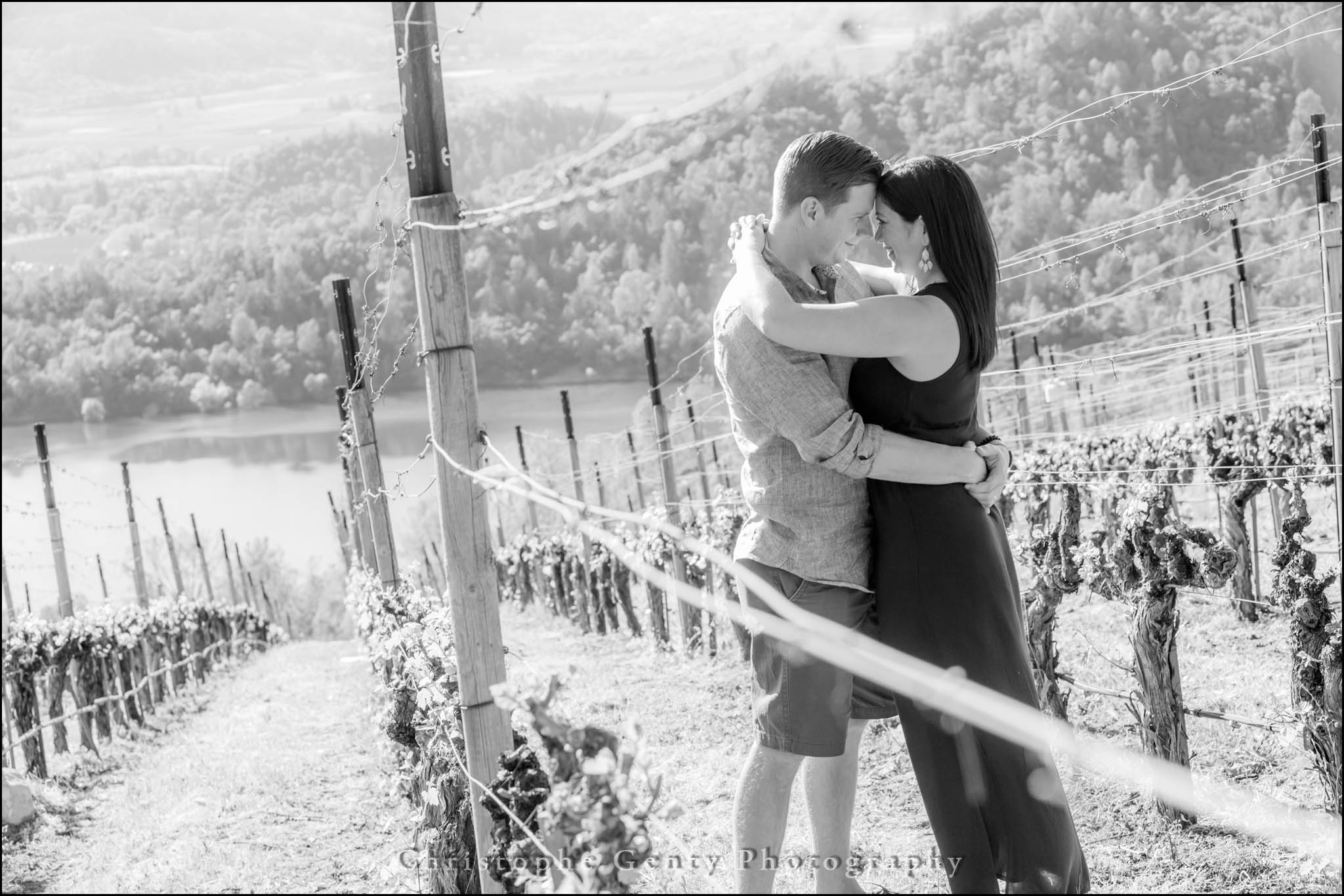 Portrait photography at Viader in Angwin - Napa Valley CA