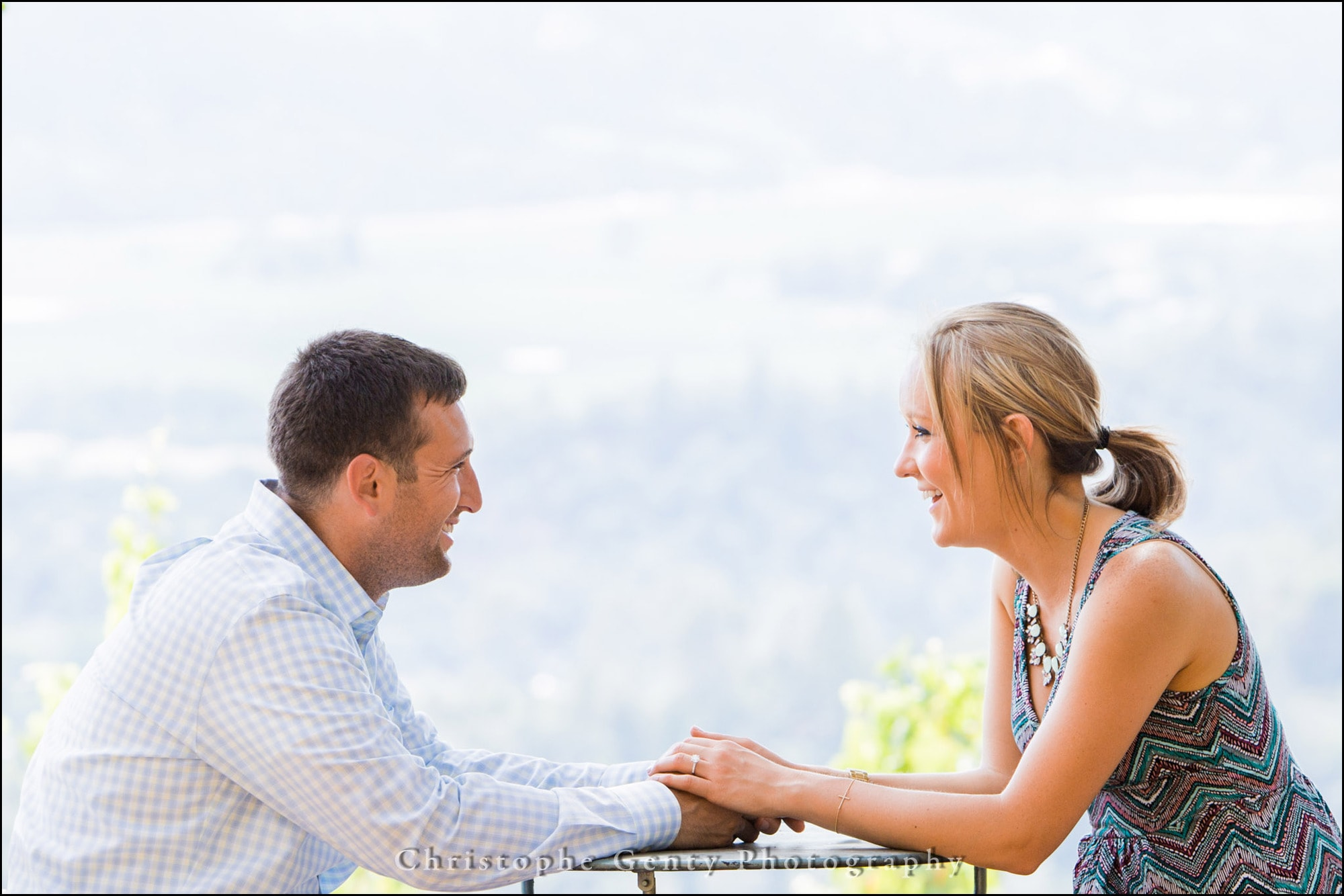 Mariage Proposal Photography in The Napa Valley