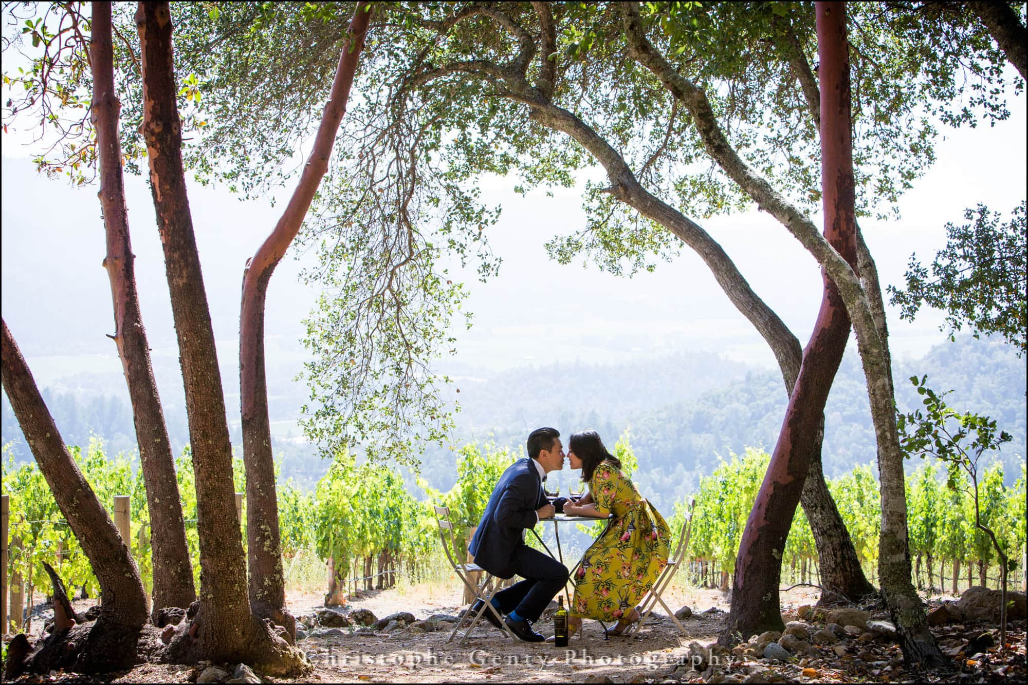 Engagement Photography in the Napa Valley