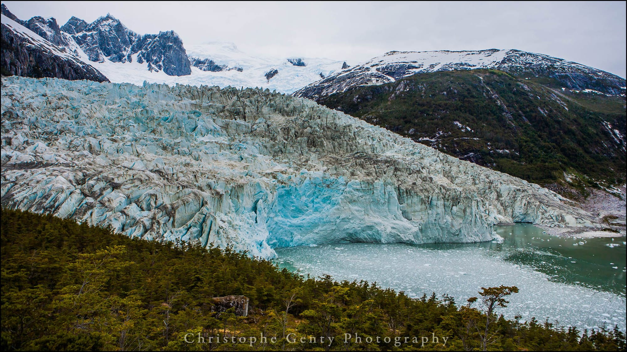 Pia Glacier, Beagle Canal, Chilie - December 2015
