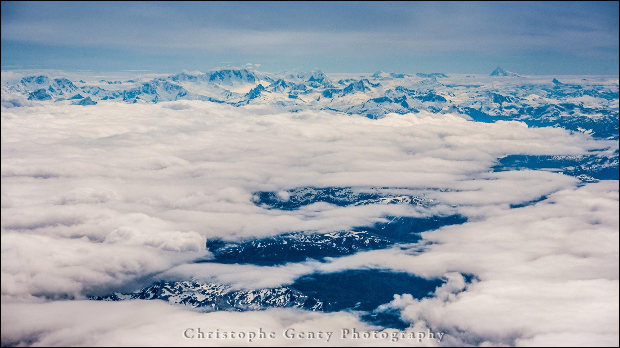 Tierra del Fuego from the sky, Argentina - December 2015