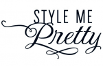 Recently featured in Style Me Pretty