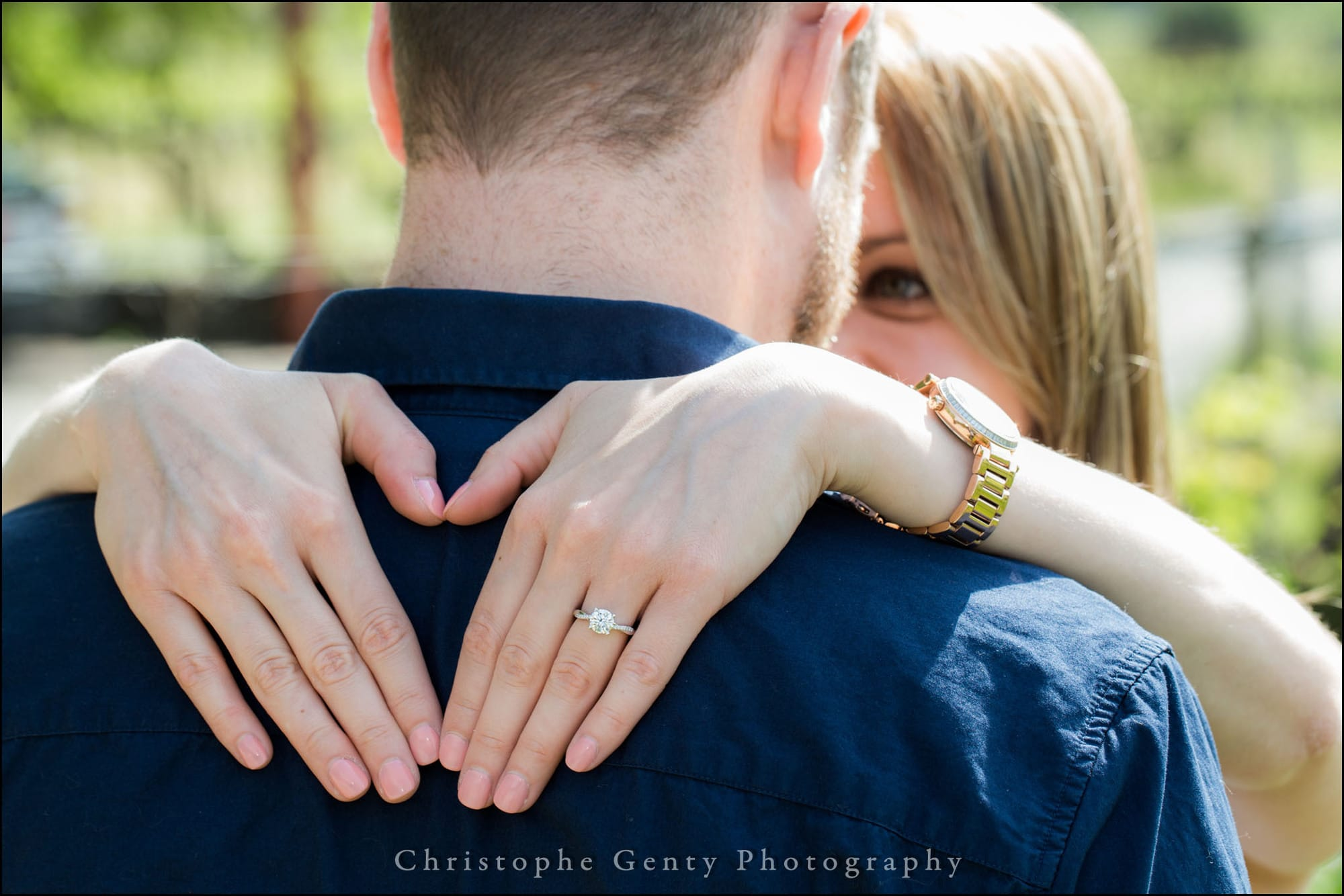 Marriage Proposal Photography in the Napa Valley - Tudal Winery, St Helena, CA