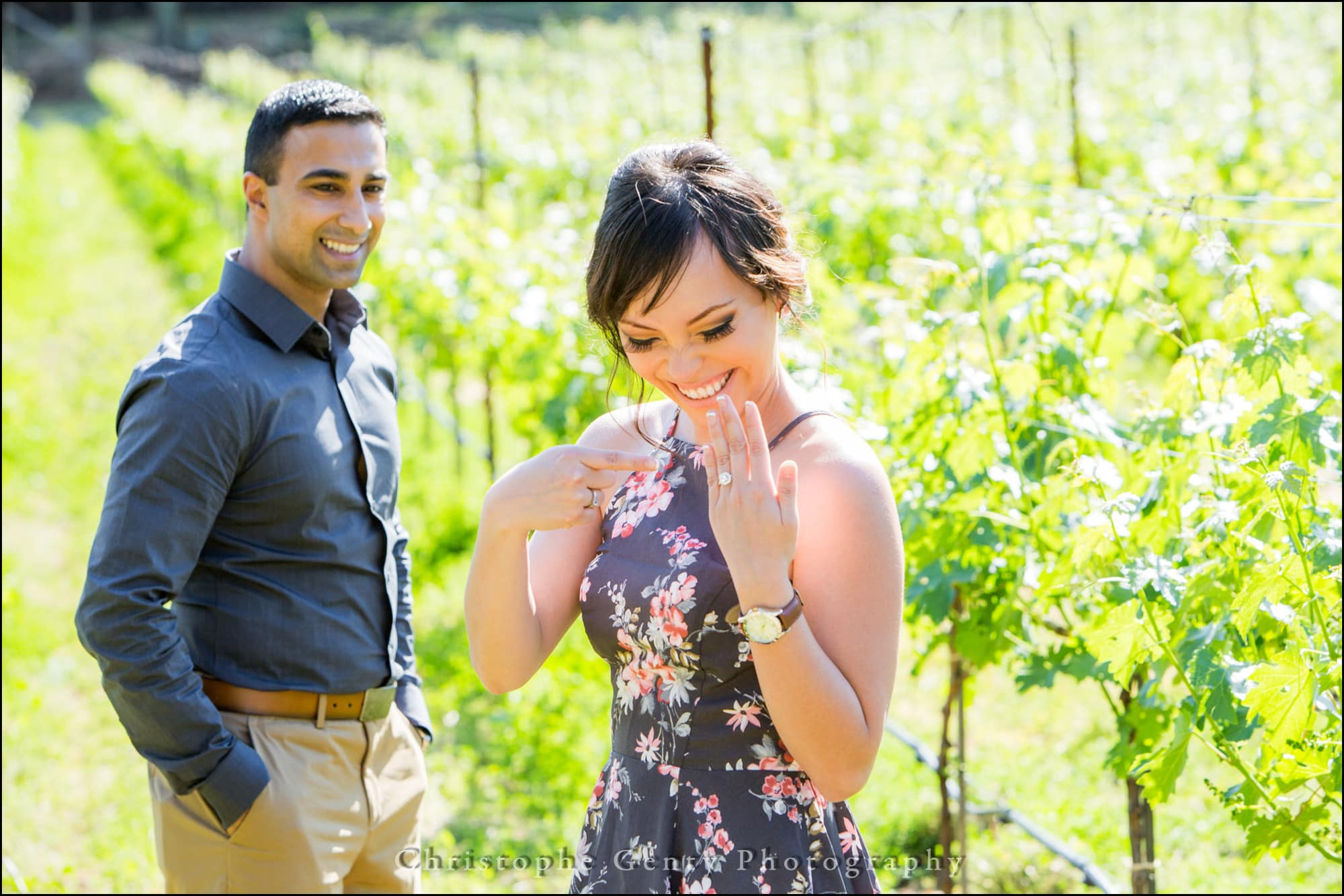 Mariage ProMarriage Proposal Photography at Bremer Winery in The Napa Valley, Californiaposal Photography in The Napa Valley - Bremer Winery