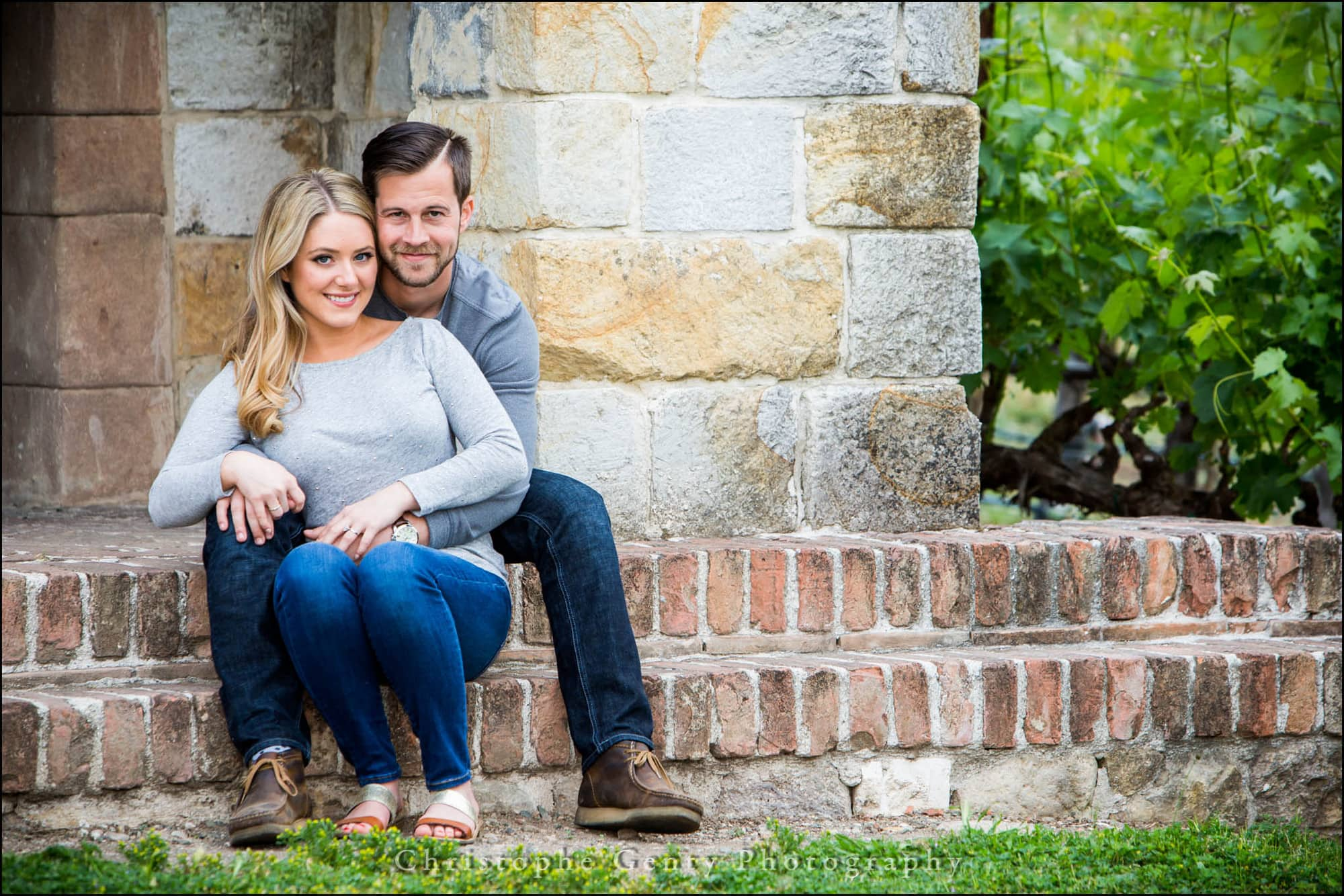 Engagement Photography at Castello di Amorosa in The Napa Valley, CA