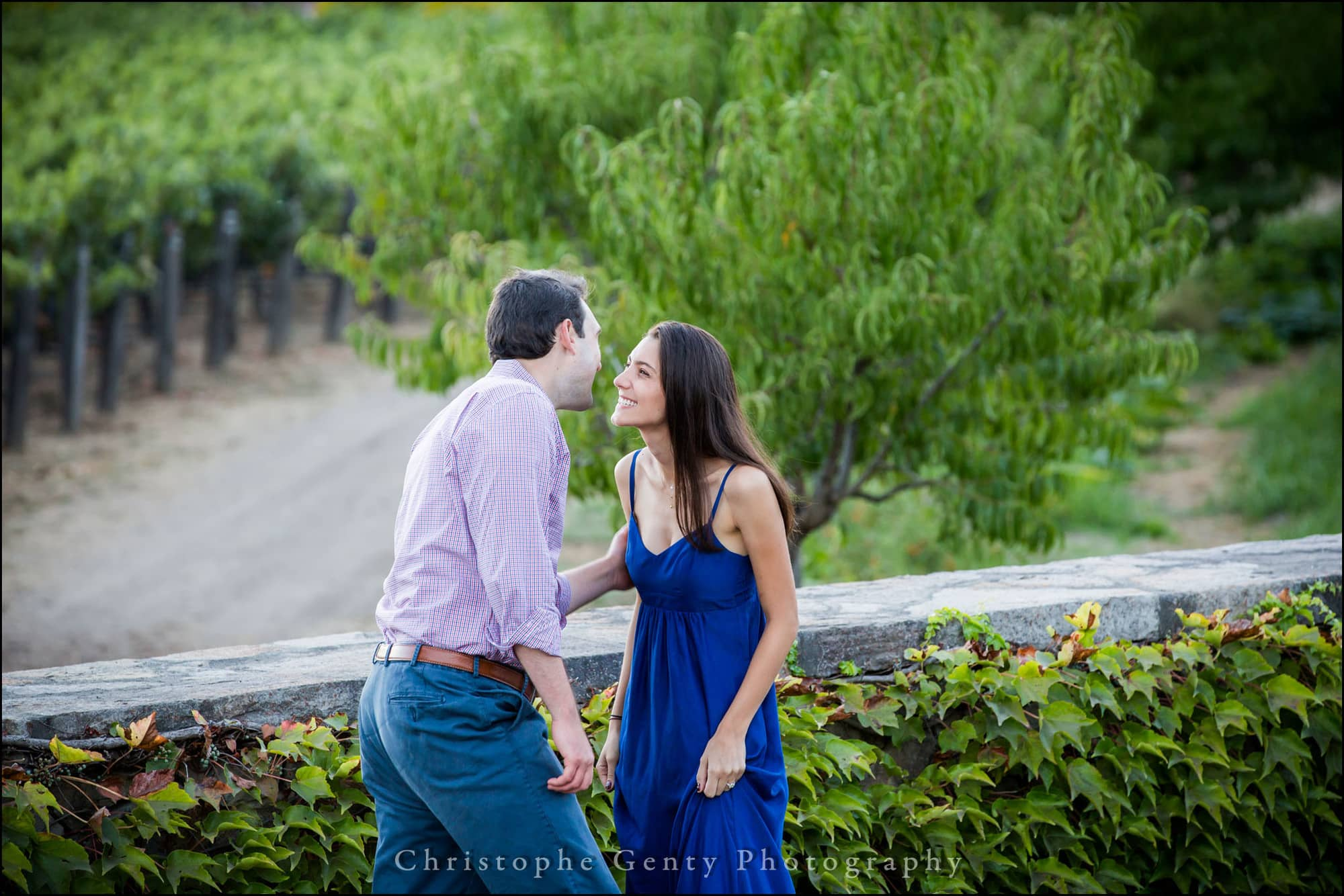 Marriage Proposal Photography in the Napa Valley Amizetta Winery