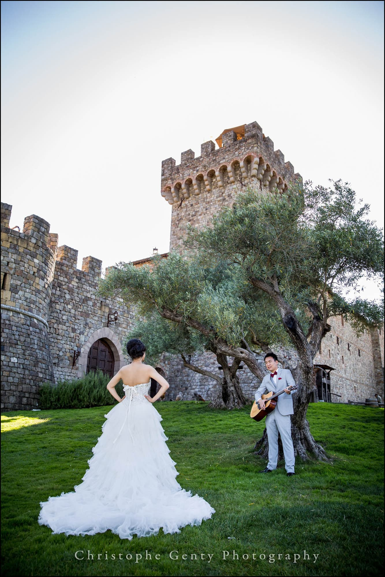 Pre wedding photography at castello di amorosa and v for Napa wedding photographer