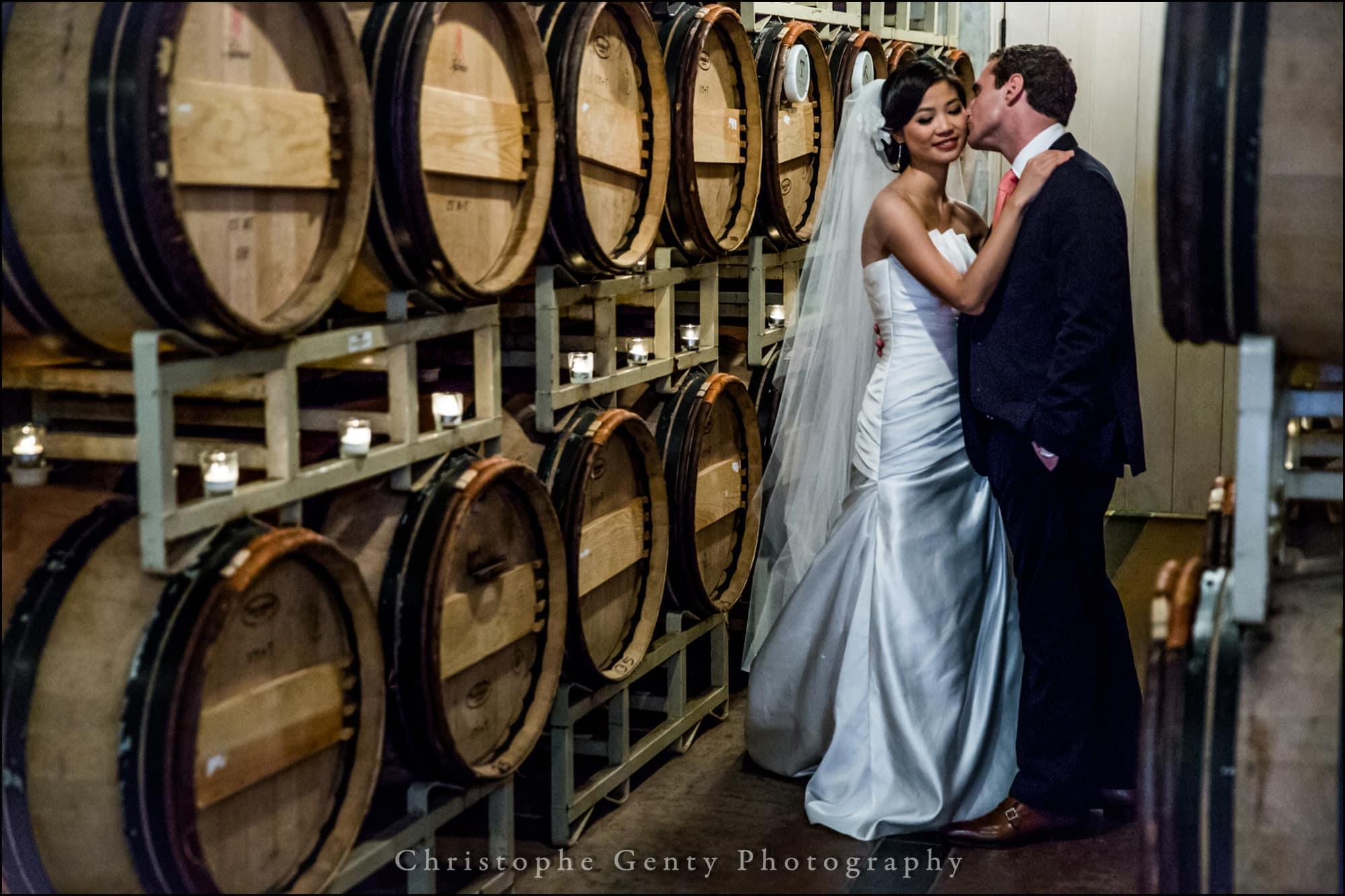 Sonoma Valley wedding photography at Viansa