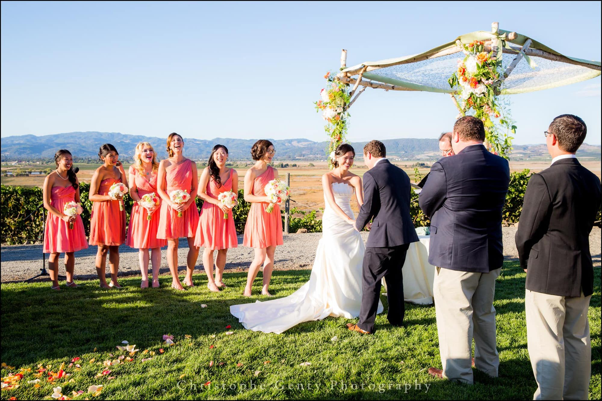 Viansa Winery Wedding Photography