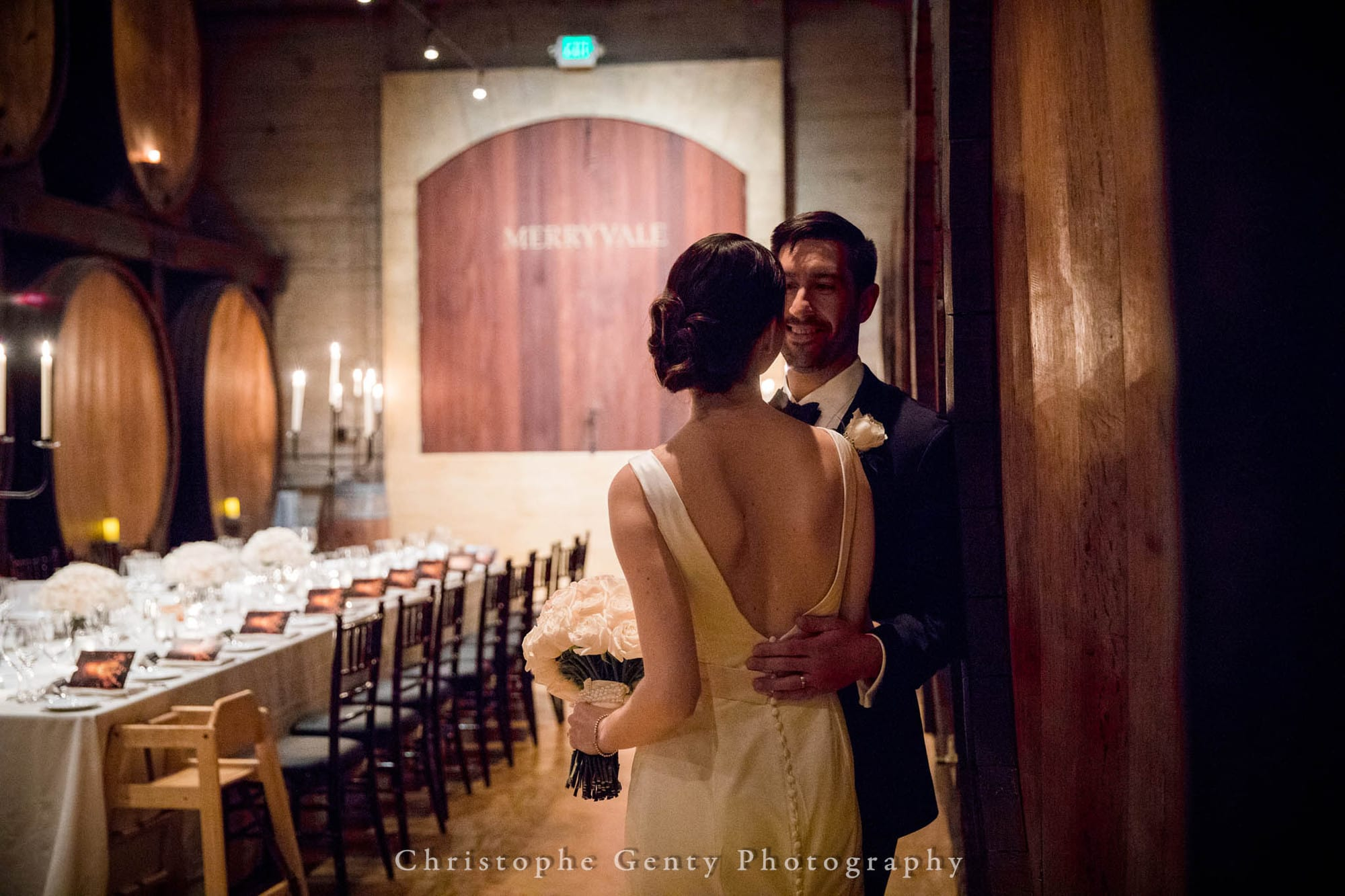Wedding Photography at Merryvale Vineyards in the Napa Valley, CA | Christophe Genty Photography