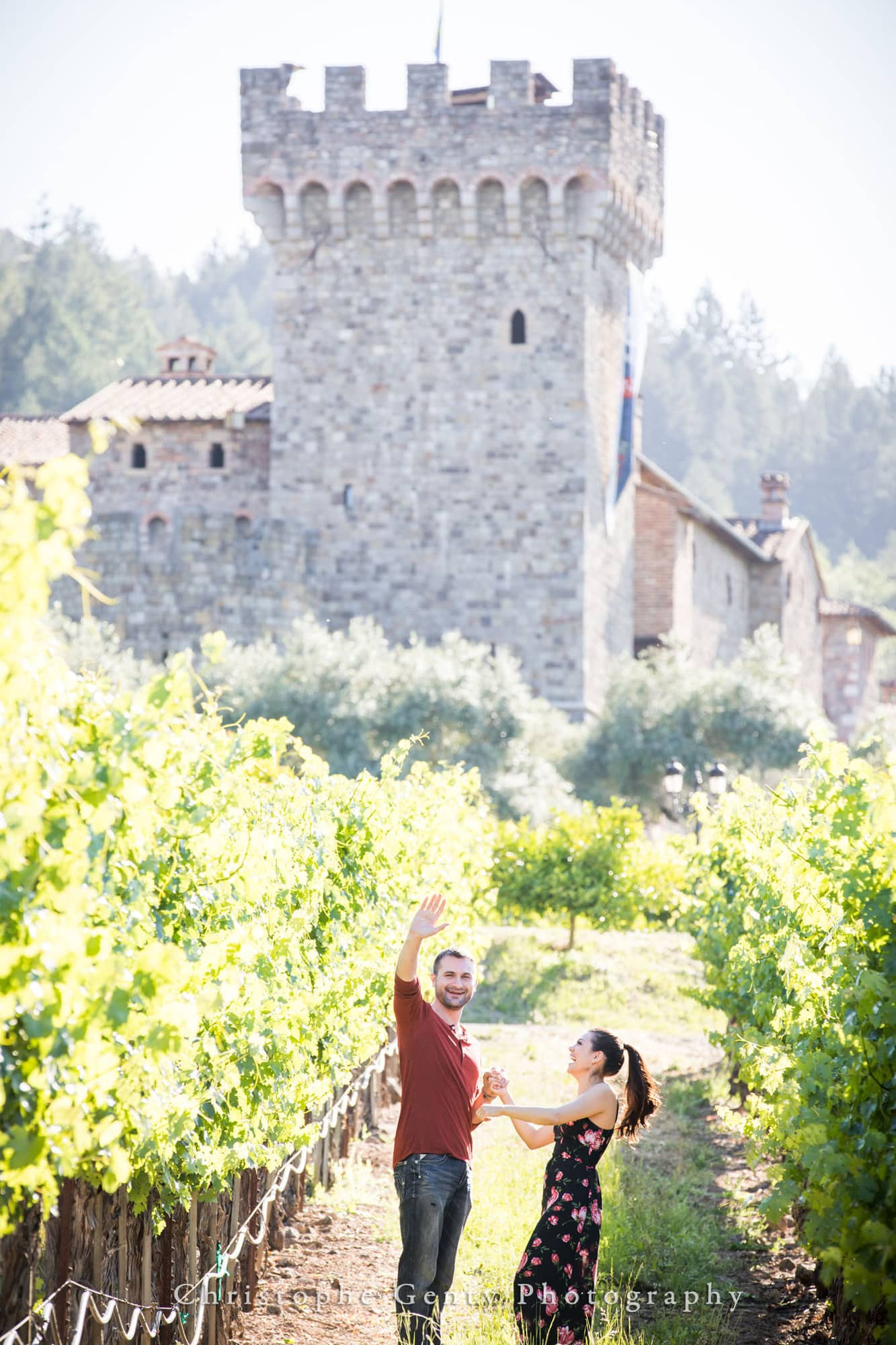 Castello di Amorosa Marriage Proposal Photography 303