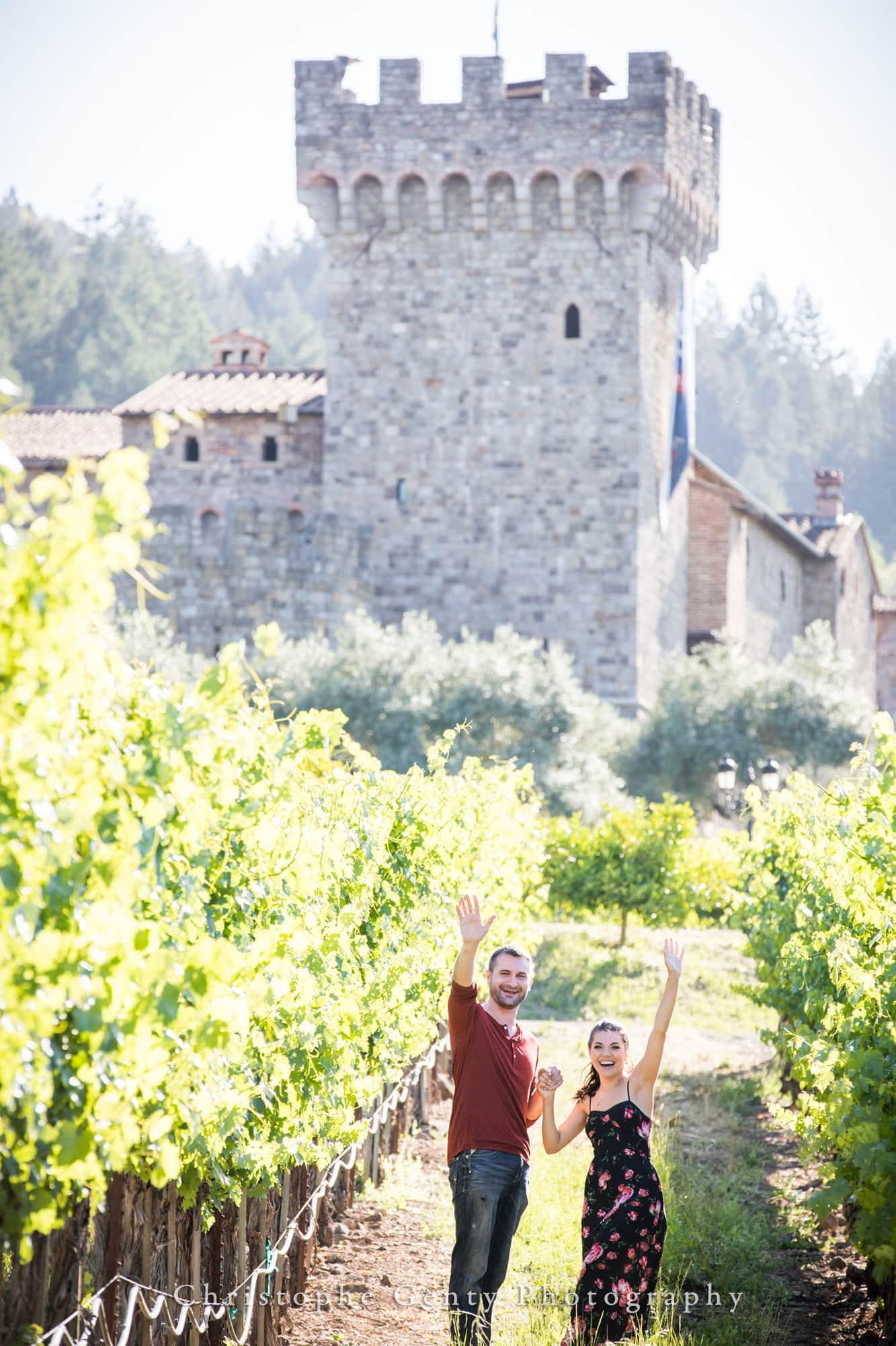 Castello di Amorosa Marriage Proposal Photography 304