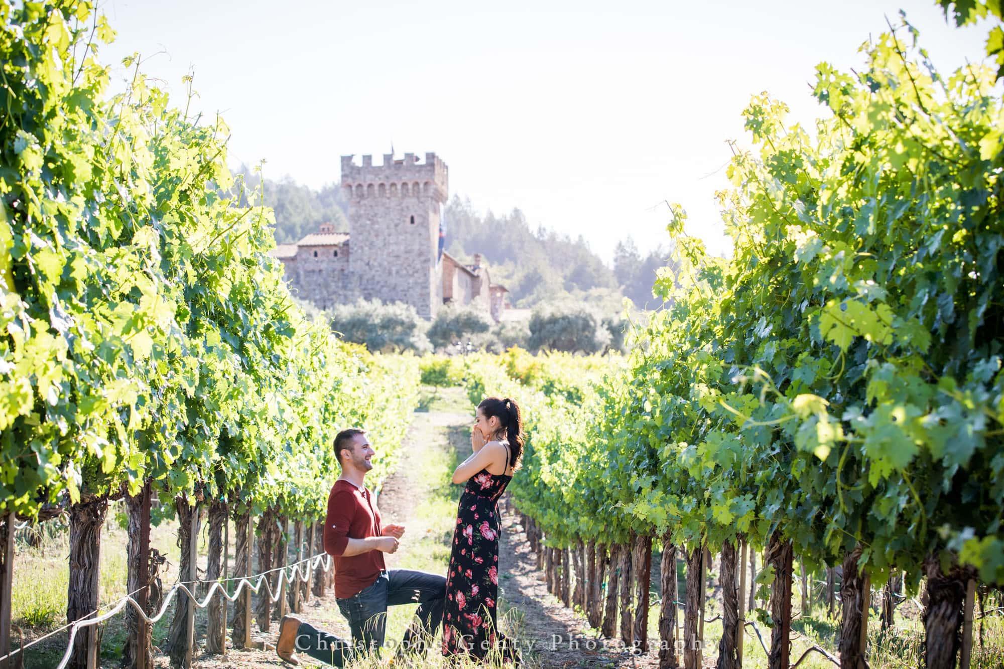 Castello di Amorosa Marriage Proposal Photography 314