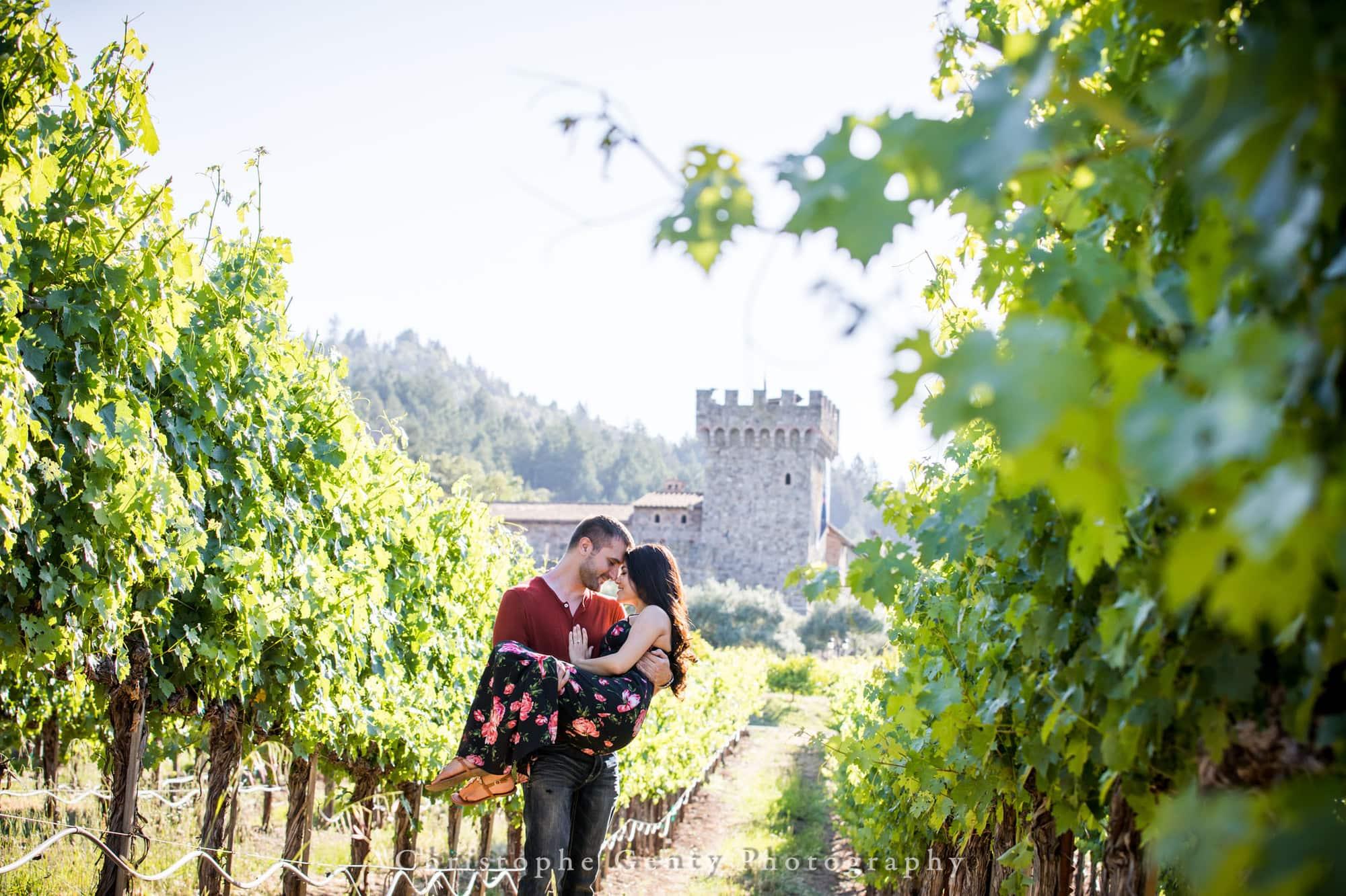 Castello di Amorosa Marriage Proposal Photography 324