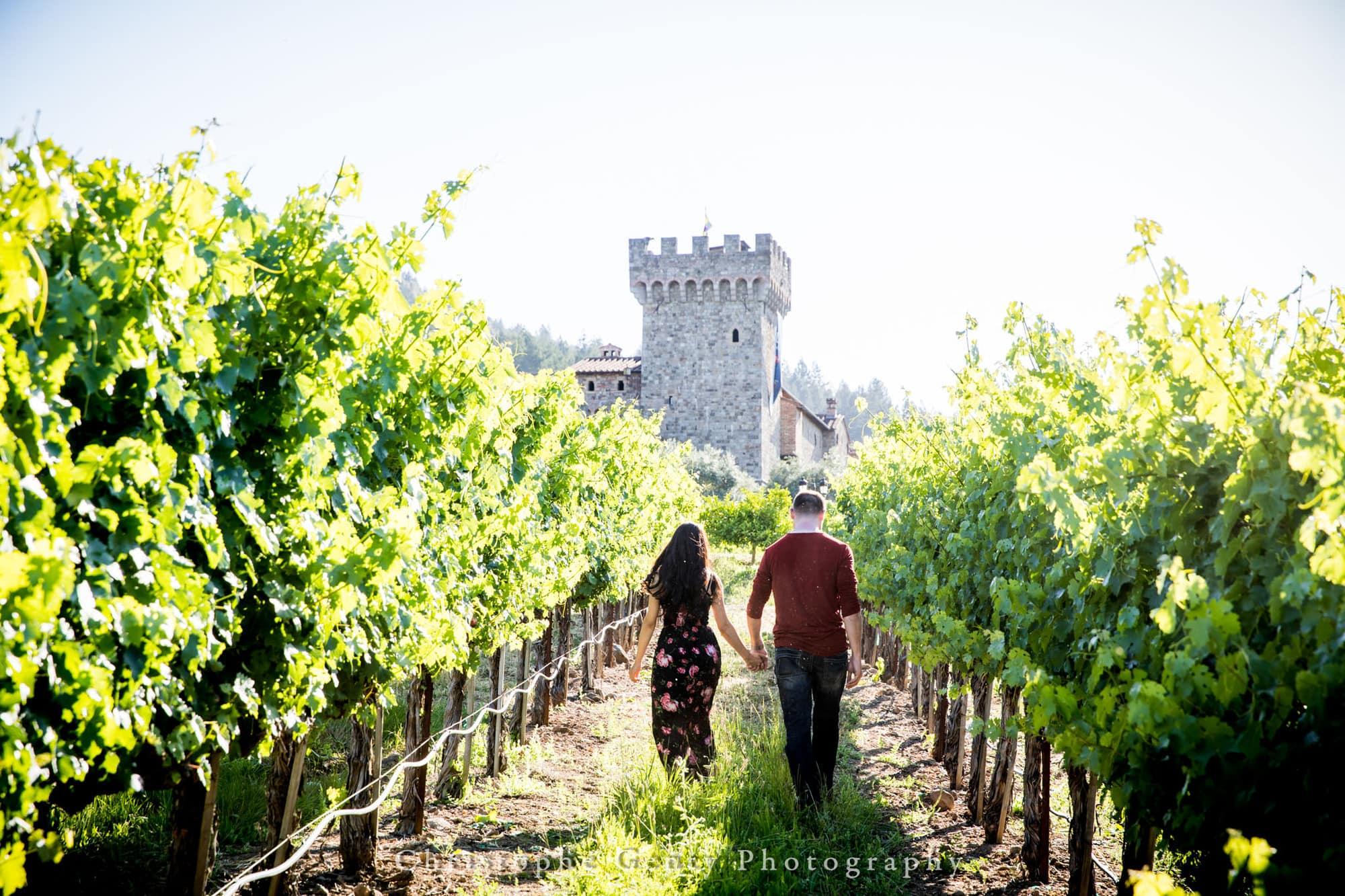 Castello di Amorosa Marriage Proposal Photography 327