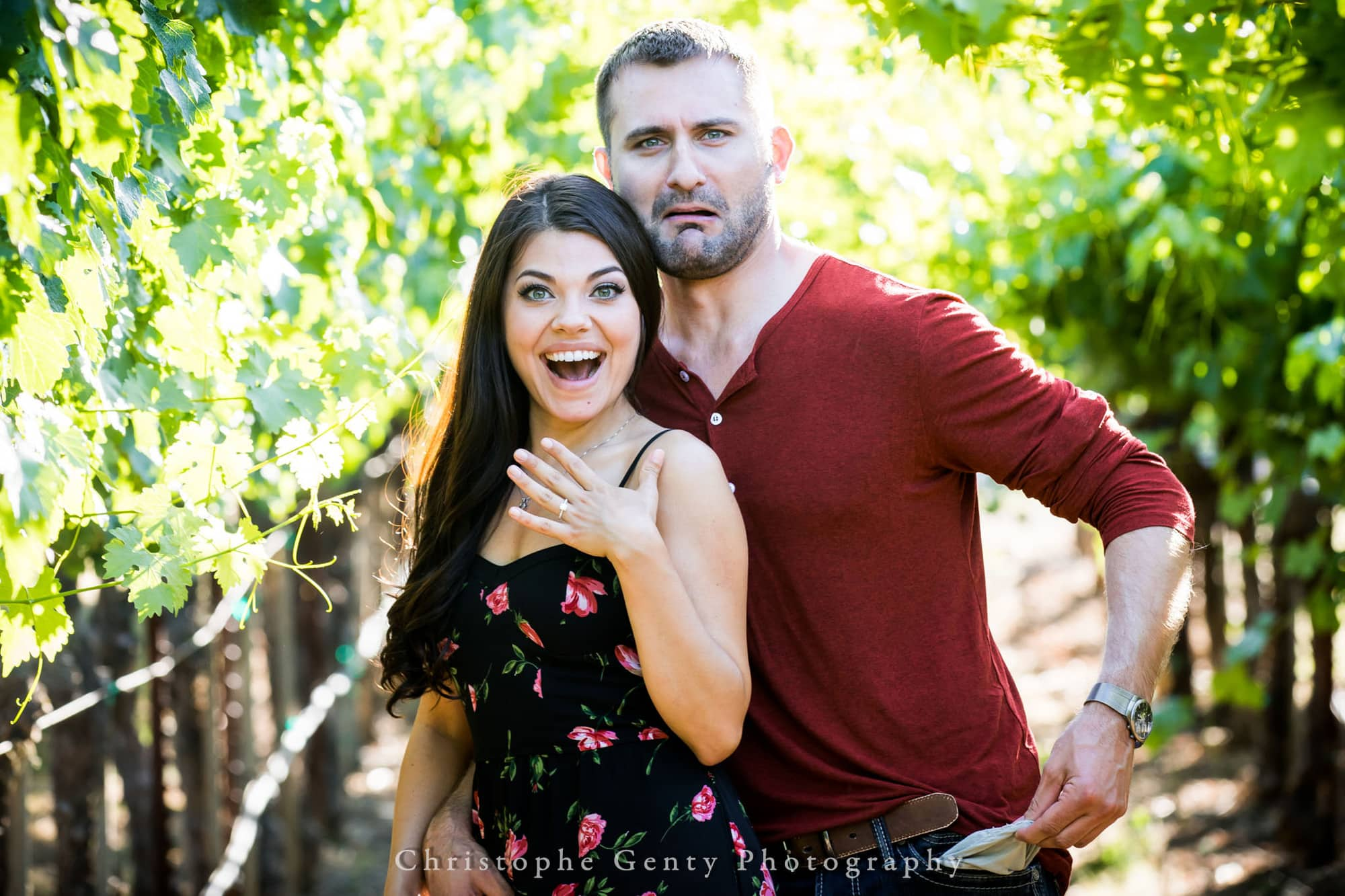 Castello di Amorosa Marriage Proposal Photography 345