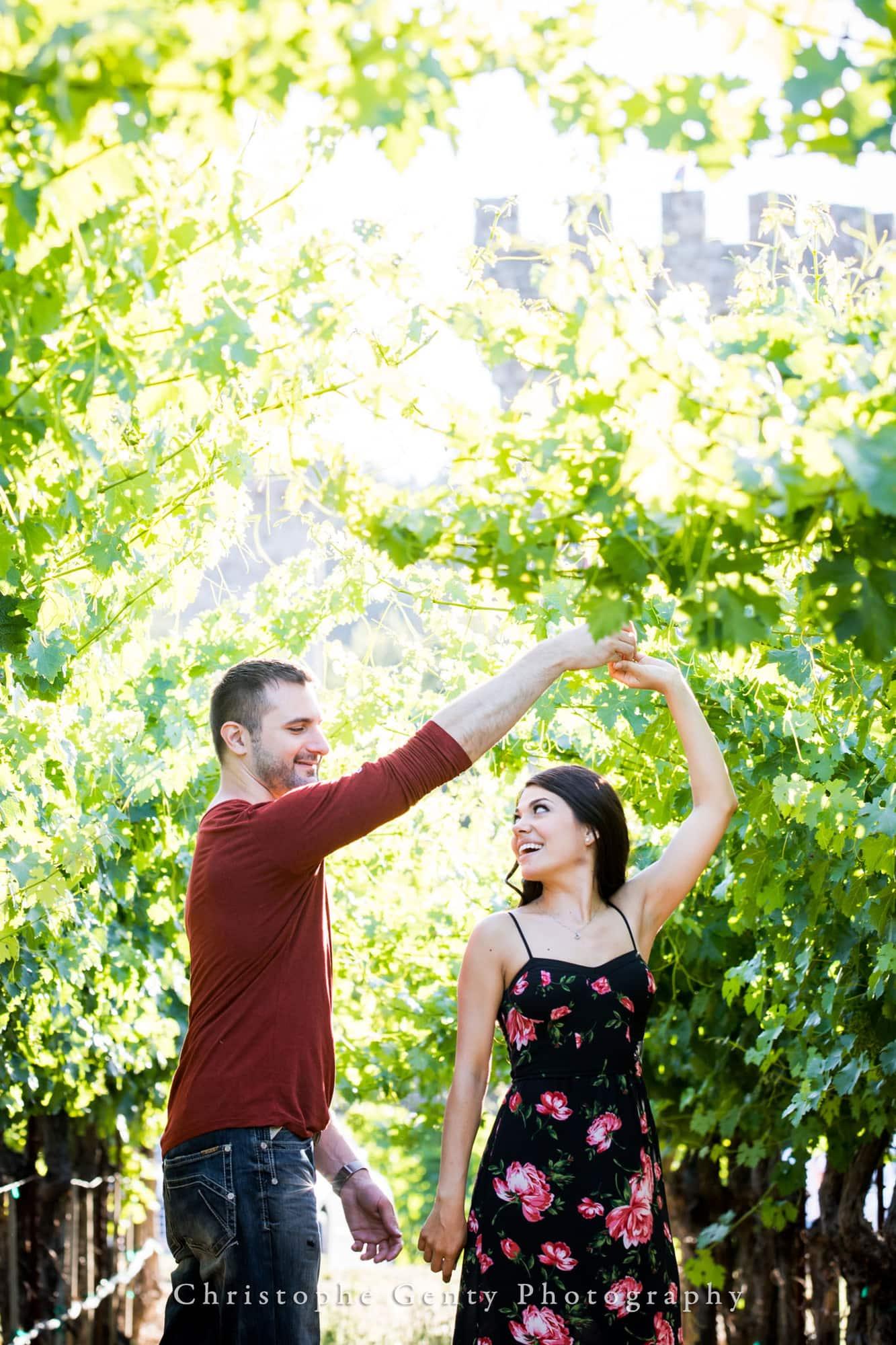 Castello di Amorosa Marriage Proposal Photography 353