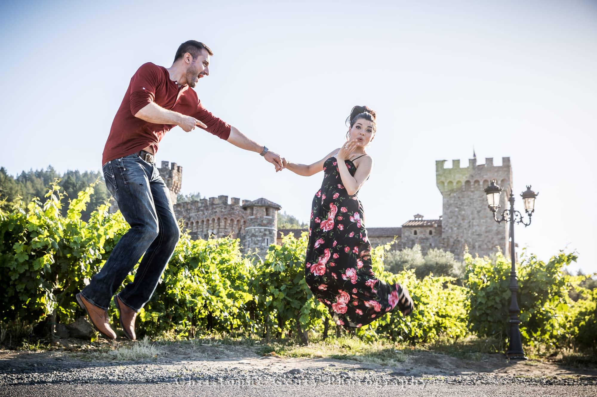 Castello di Amorosa Marriage Proposal Photography 377
