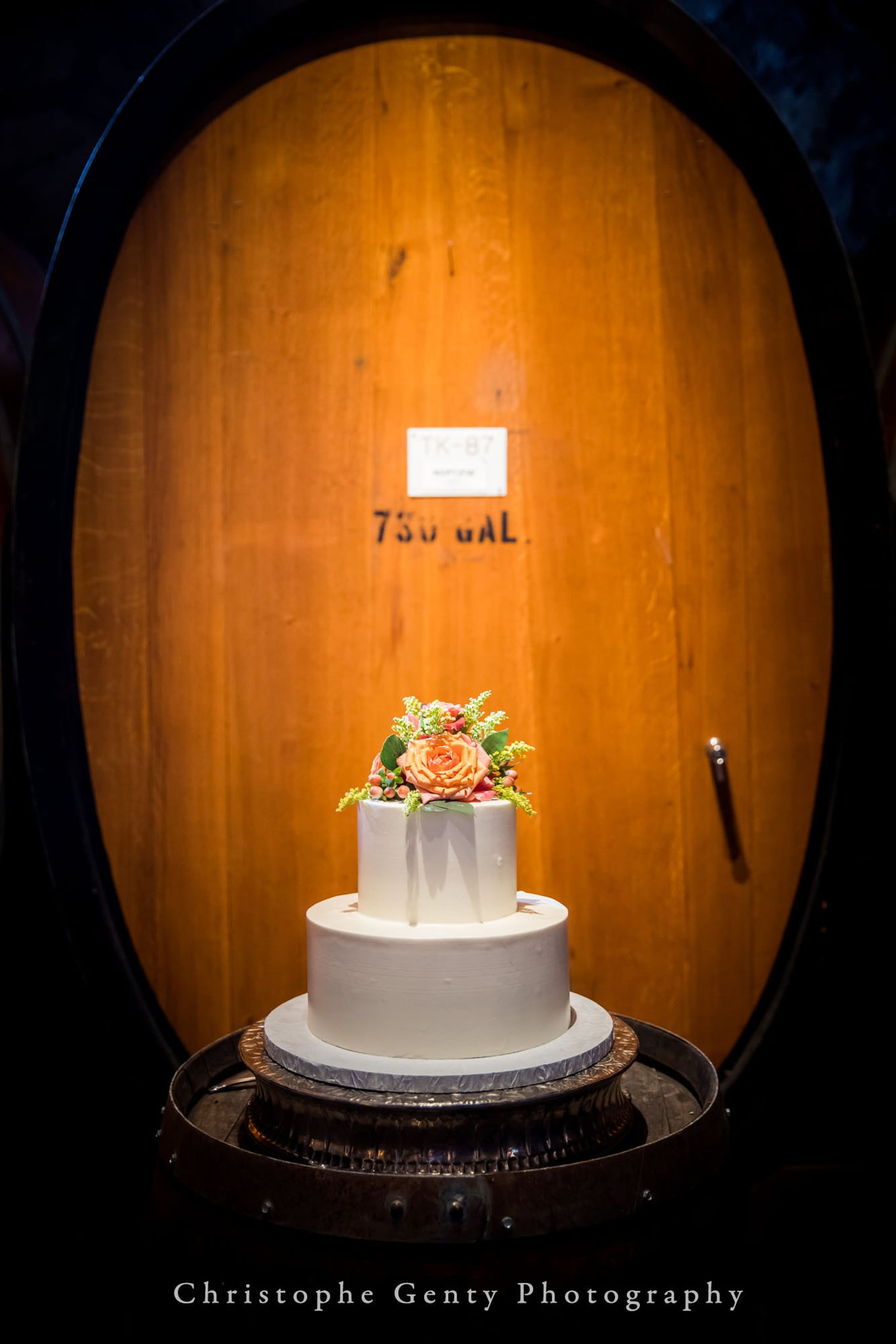 Wedding photography at V. Sattui Winery in Napa, CA