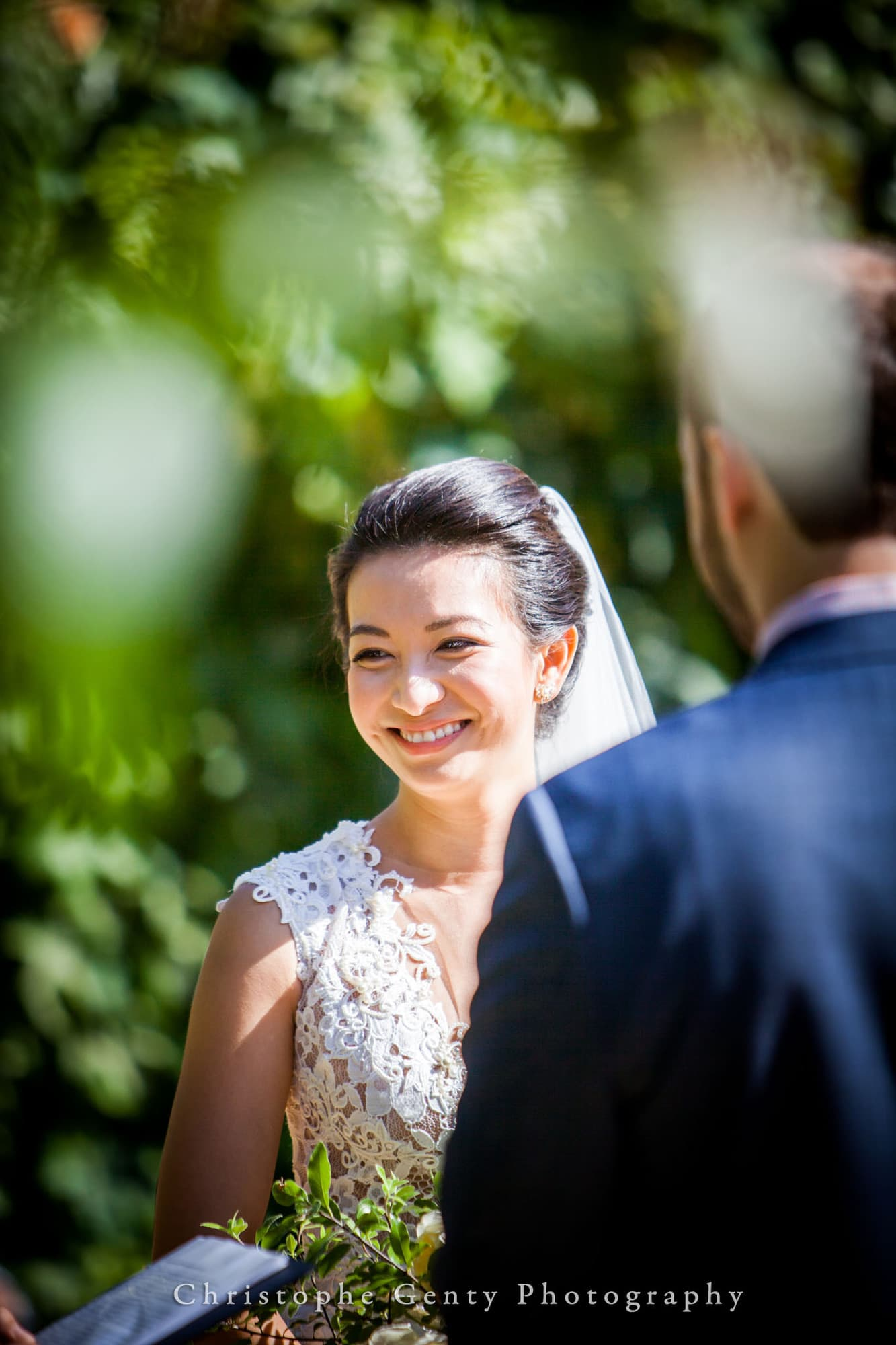 Sonoma Valley wedding photography at Chateau St Jean, Kenwood CA